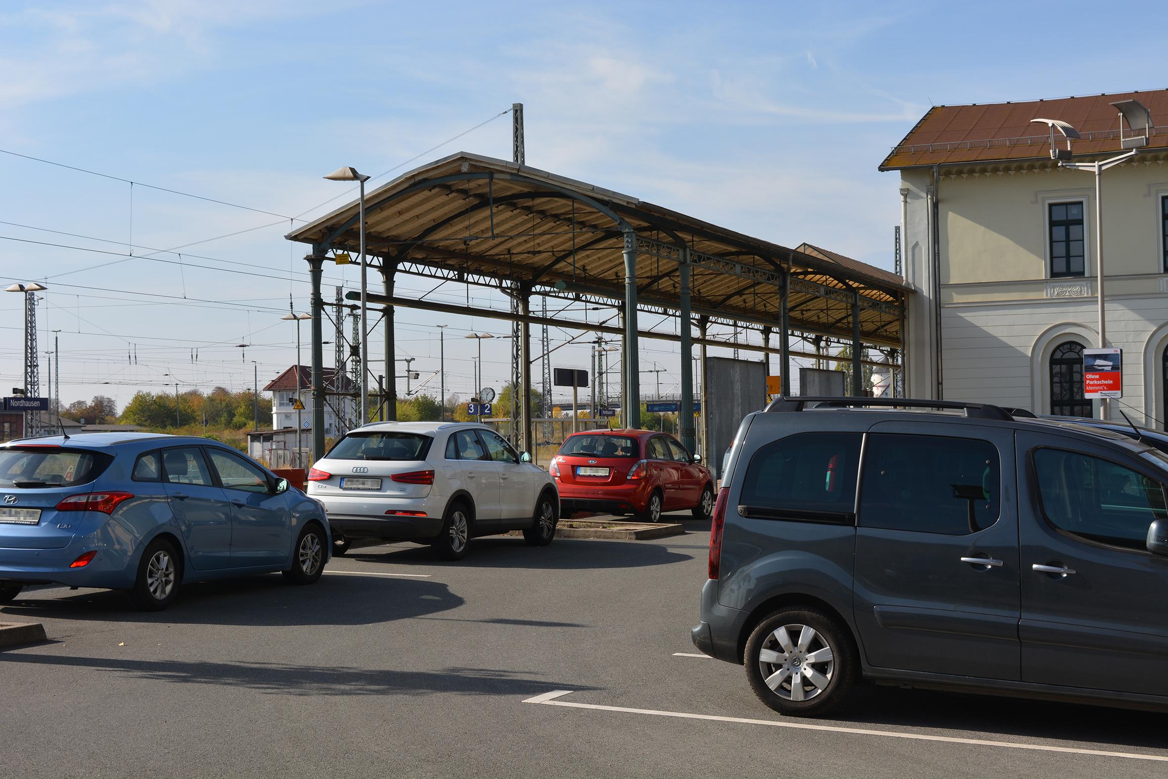 Train station Nordhausen