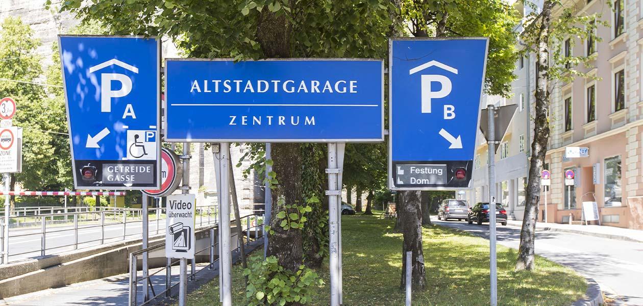 Referenz Wir betreiben - Salzburg Altstadtgarage
